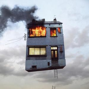 Flying house 2 Laurent Chehere