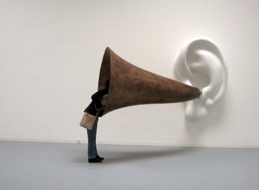 John Baldessari, Beethoven's Trumpet (Tate Gallery)